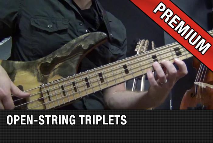 Open-String Triplets