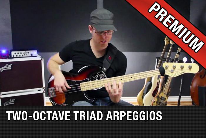 Two-Octave Triad Arpeggios